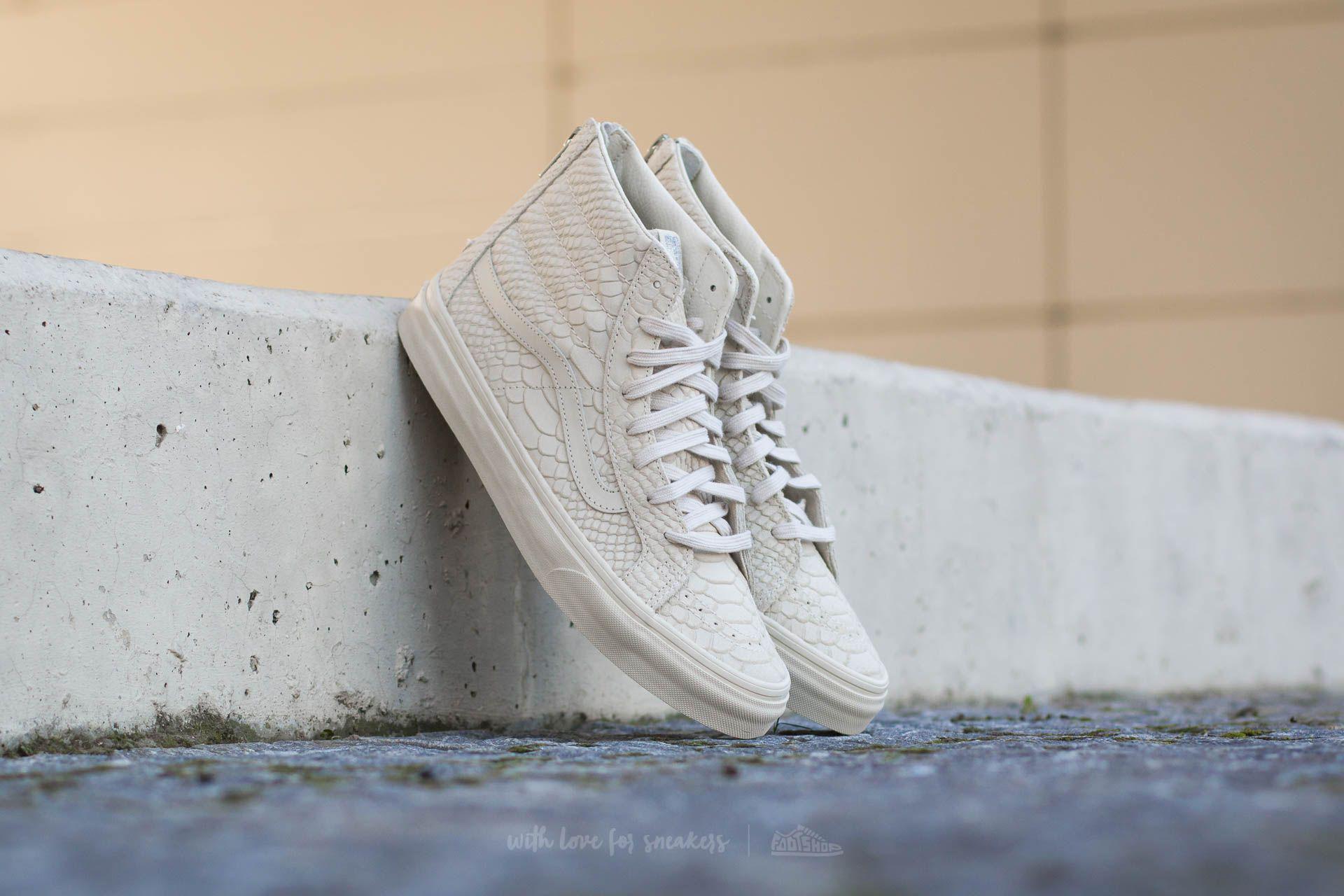 U Sk8-salut Mince Python Mono Zip Dx A - Chaussures - Haute-dessus Et Baskets Vans nyzFQGW