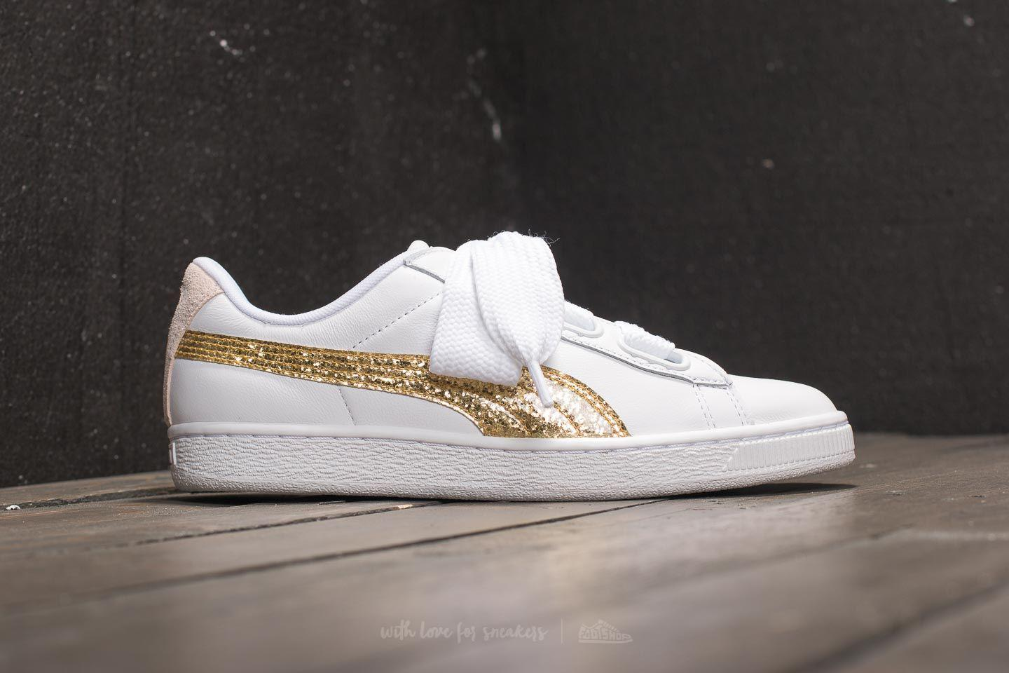 BASKET HEART GLITTER WNS - FOOTWEAR - Low-tops & sneakers Puma P5GIxyES