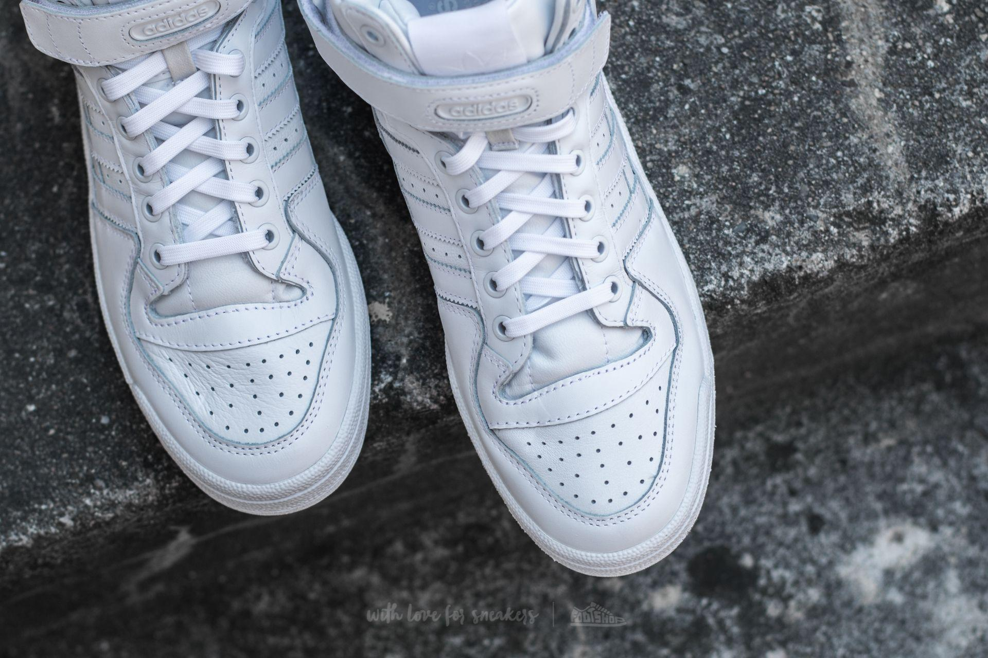 the best attitude 33123 a201e Lyst - adidas Originals Adidas Forum Mid Refined Footwear White ...