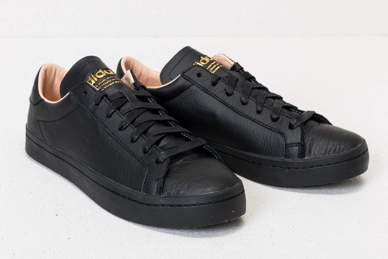 on sale 2b9d3 4a8b0 Footshop - Adidas Court Vantage Core Black Core Black Supplier Colour for  Men -. View fullscreen