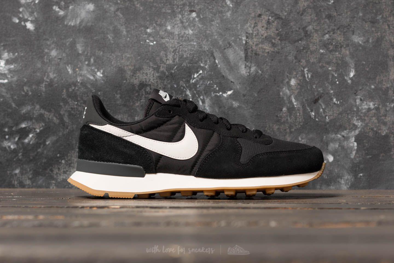 Nike - Wmns Internationalist Black/ Summit White-anthracite - Lyst. View  Fullscreen