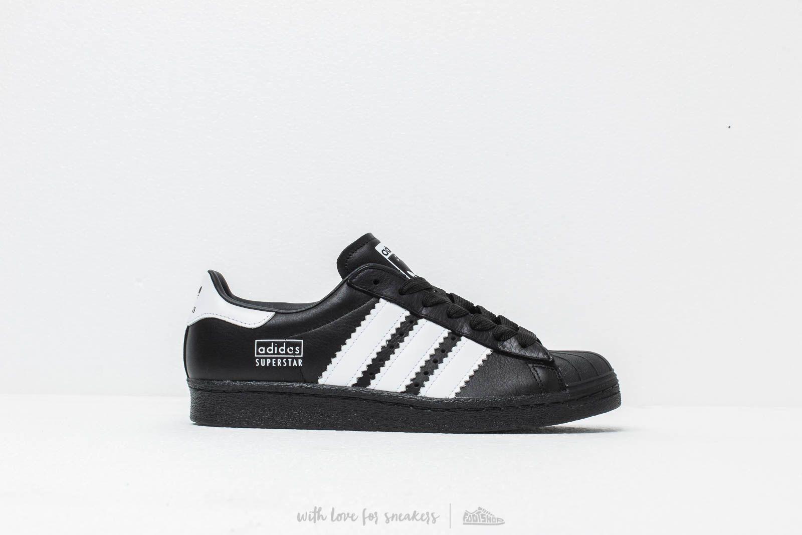 size 40 efefa bd065 Adidas Originals - Adidas Superstar 80s Core Black Ftw White Core Black  for Men. View fullscreen