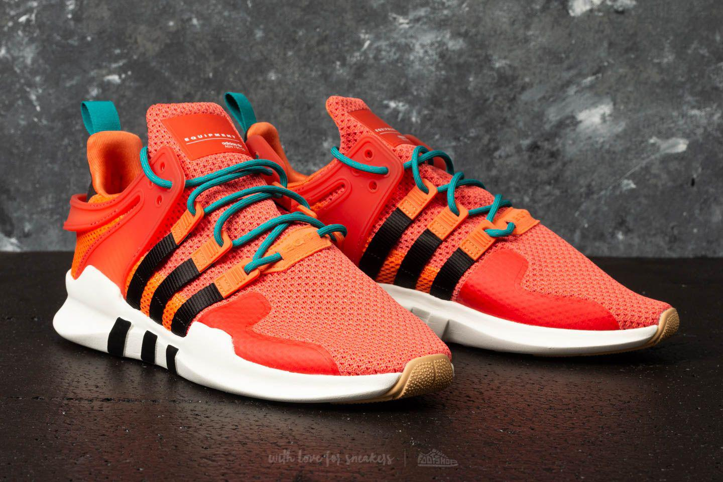 dbe23fe8108a Lyst - adidas Originals Adidas Eqt Support Adv Summer Trace Orange ...