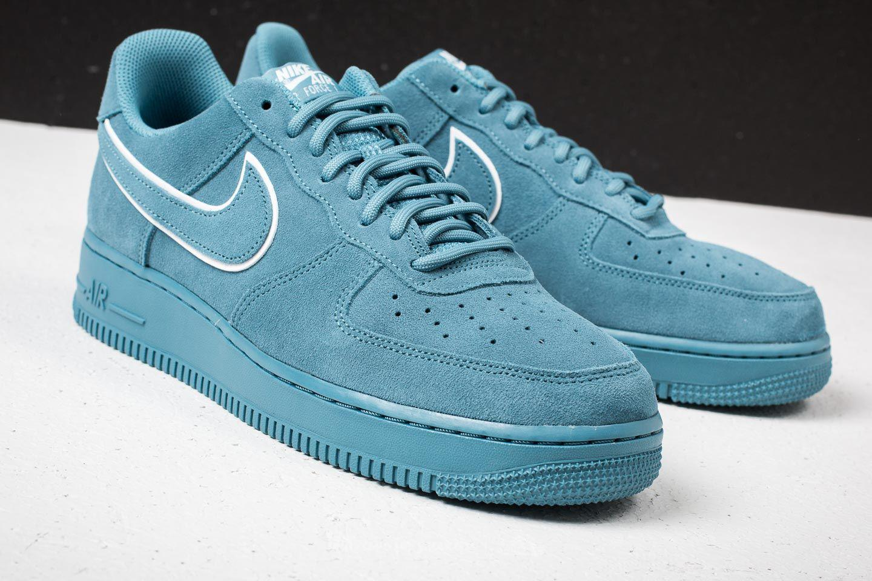 aa4ff03fea69e Lyst - Nike Air Force 1 ́07 Lv8 Suede Noise Aqua  Noise Aqua in Blue ...