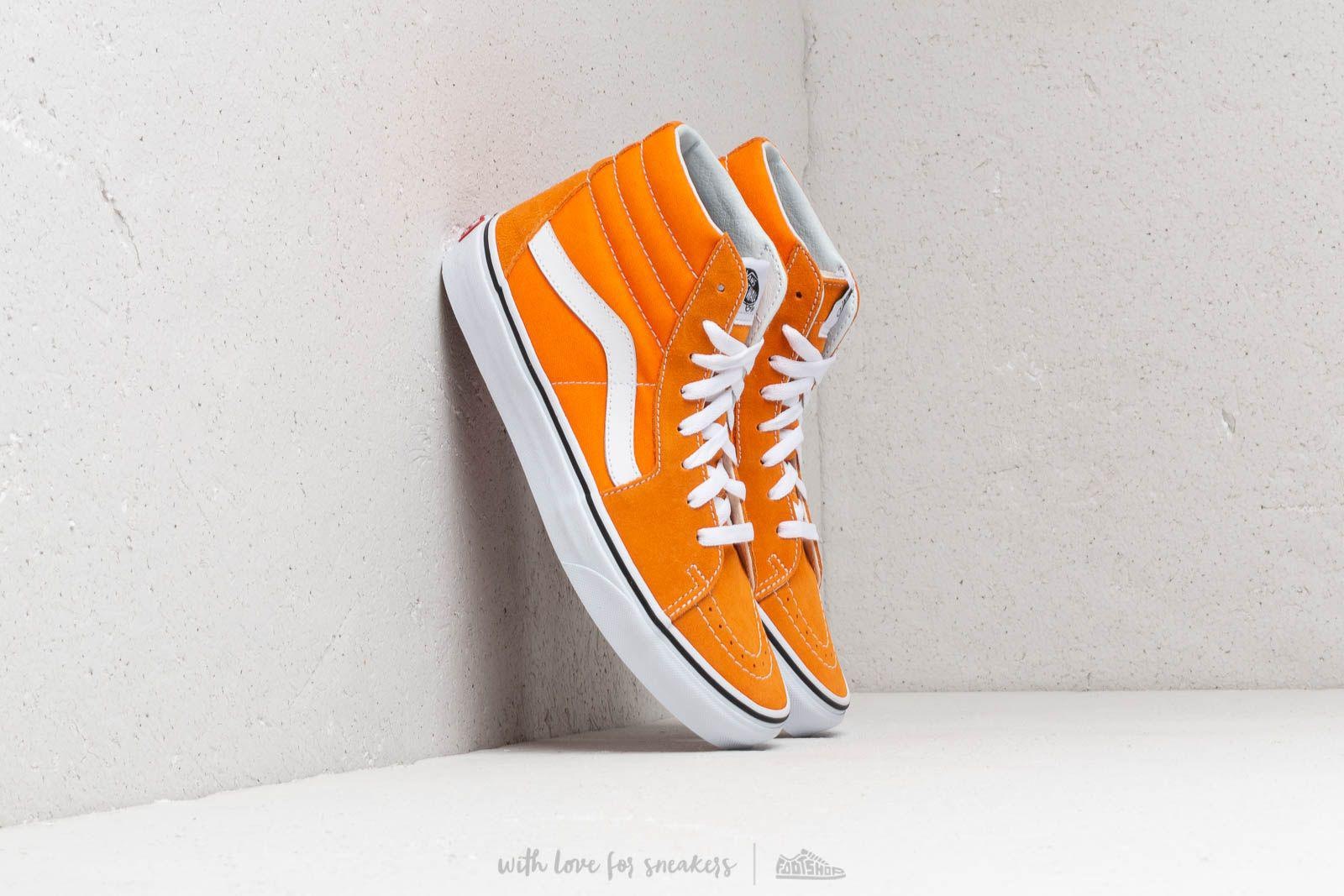 Lyst - Vans Sk8-hi Dark Cheddar  True White in White for Men a899a21bfd