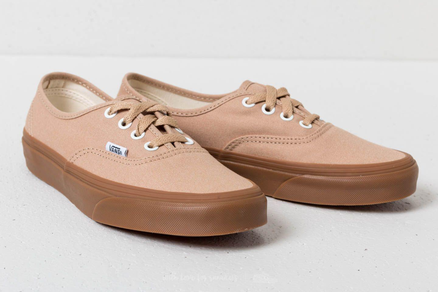 78cb1d26ba90 Lyst - Vans Authentic Sesame  Gum