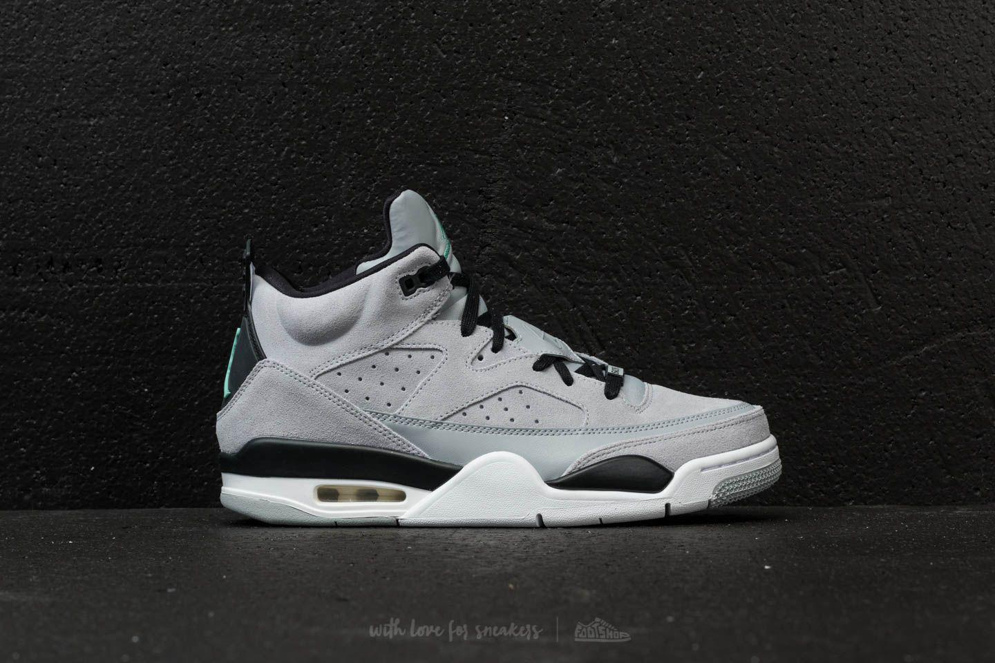 super popular 52b41 a3037 Nike Son Of Low Wolf Grey  Emerald Rise-black in Black for Men - Lyst