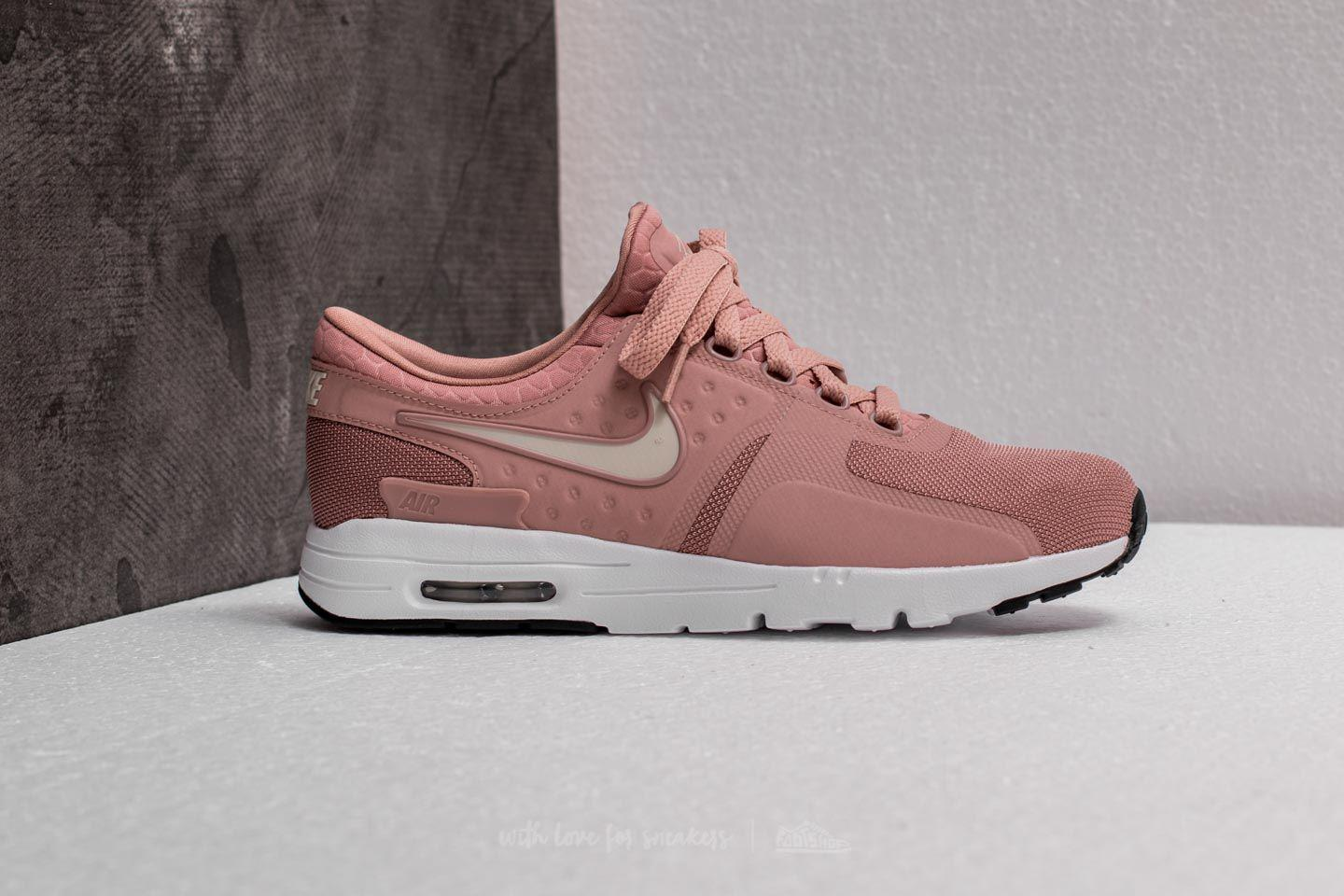 6b2116fa6d8 ... spain lyst nike air max zero w particle pink light bone black in pink  5e77b 55a9b