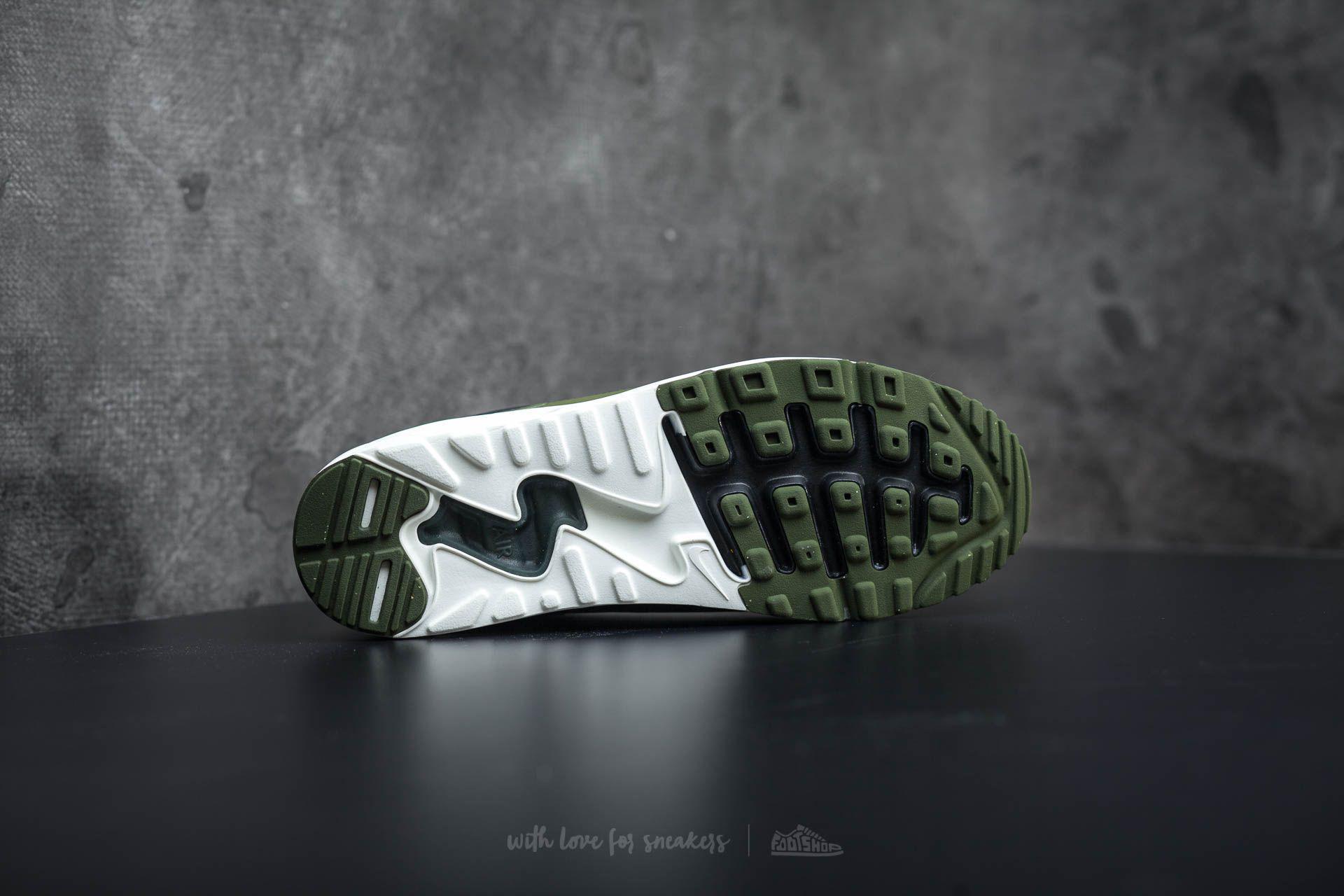 on sale 8e72c 95460 Nike Air Max 90 Ultra 2.0 Essential Black/ Legion Green-sail in ...