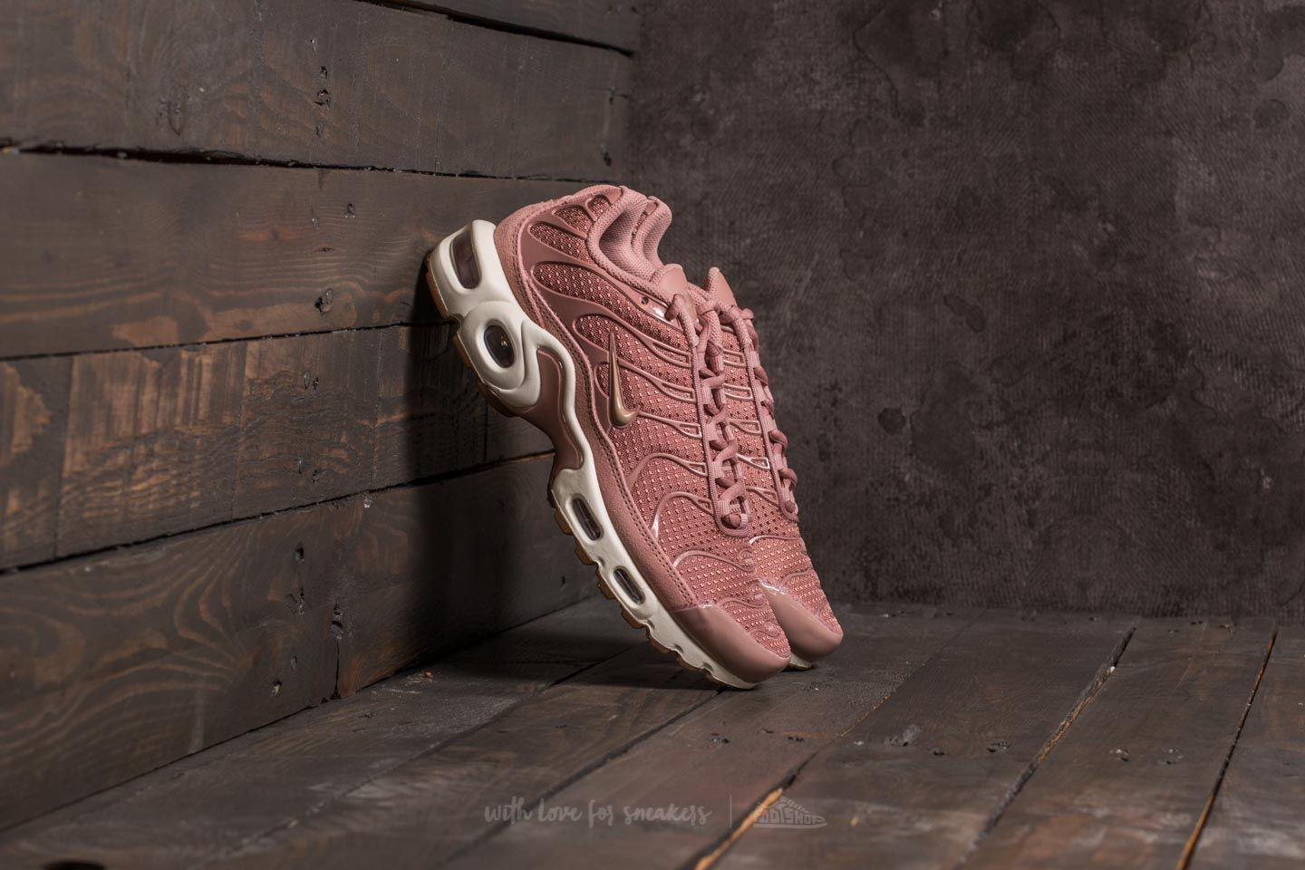 ce2ccd933e Nike Wmns Air Max Plus Particle Pink/ Mushroom-sail in Pink - Lyst
