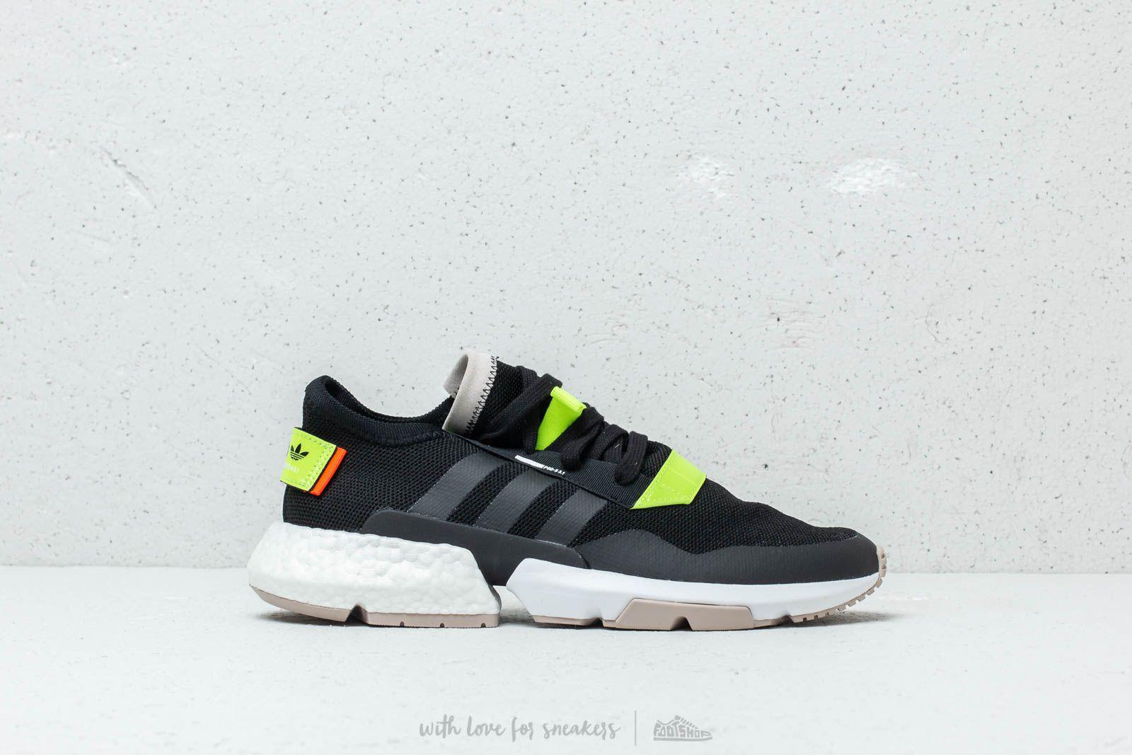 reputable site d609b c073f Lyst - adidas Originals Adidas Pod-s3.1 Core Black Solar Yel