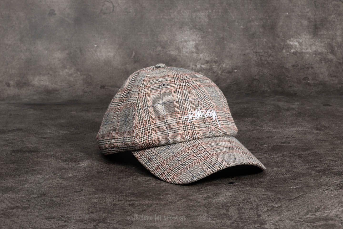 Lyst - Stussy Suiting Low Pro Cap Plaid for Men 989058c5cfc0