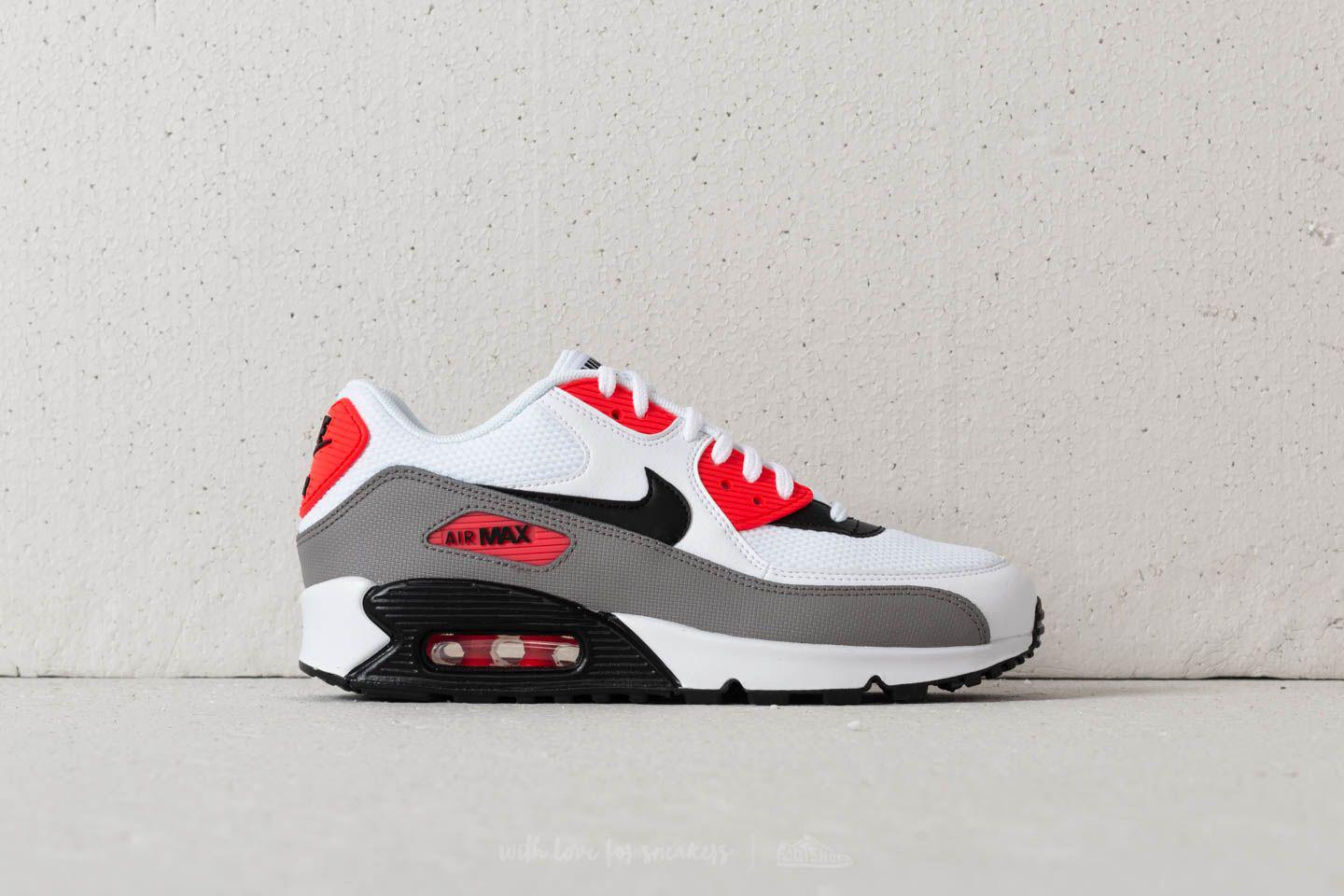 Nike - Wmns Air Max 90 White/ Black-dust-solar Red for Men. View fullscreen