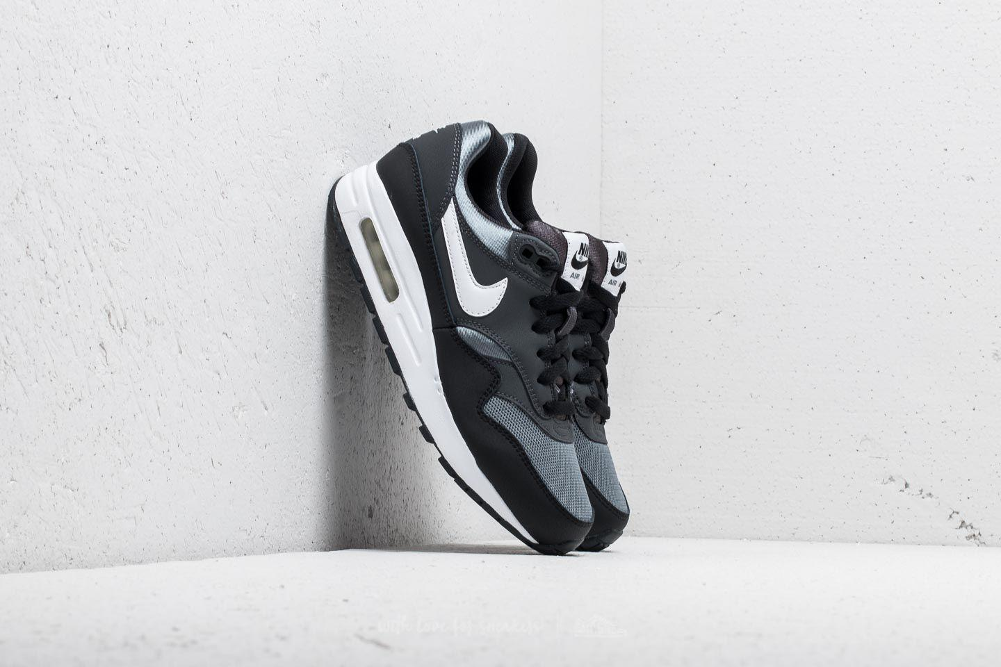 b9666ba3adc Lyst - Nike Air Max 1 (gs) Black  White-anthracite in Black