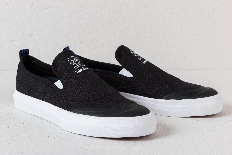 sports shoes fce10 d66ed Lyst - adidas Originals Adidas Matchcourt Slip Core Black  Ftwwhite ...