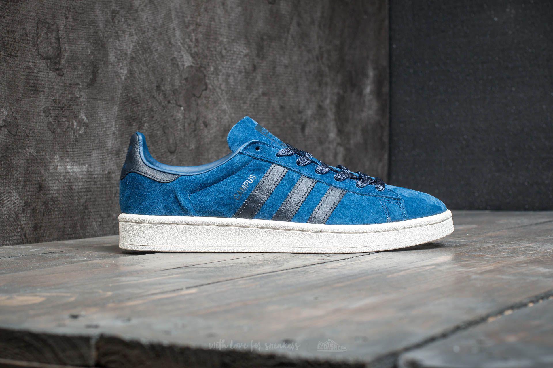 separation shoes 5100b 14680 Lyst - adidas Originals Adidas Campus Mystery Blue Night Nav