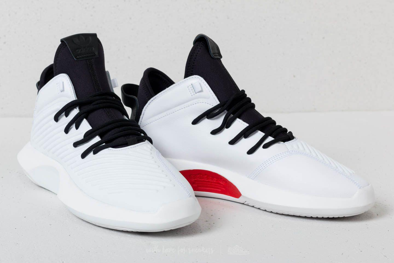 best service e952e 2867d Lyst - adidas Originals Adidas Crazy 1 Adv Ftw White Core Bl