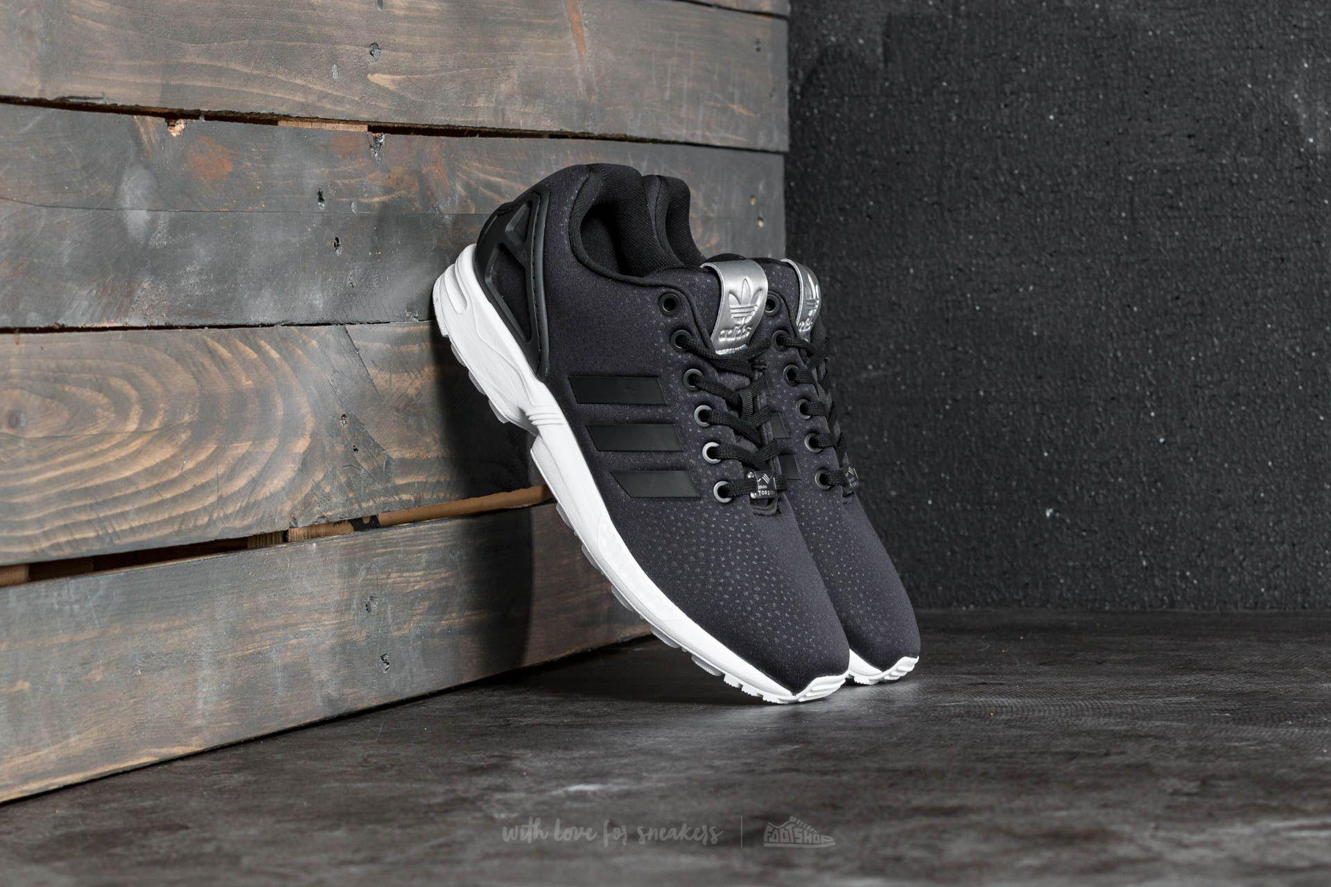 huge discount d7710 2200b Lyst - adidas Originals Adidas Zx Flux W Core Black  Core Black ...