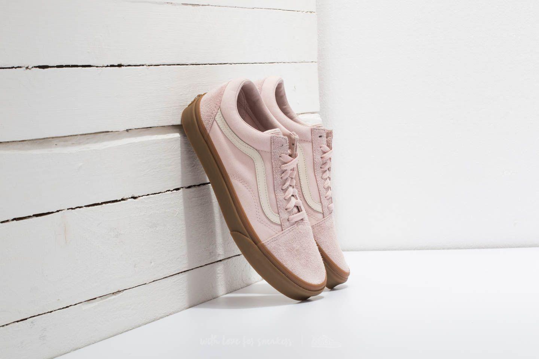 6ae41830bb Lyst - Vans Old Skool (fuzzy Suede) Sepia Rose  Light Gum in Pink