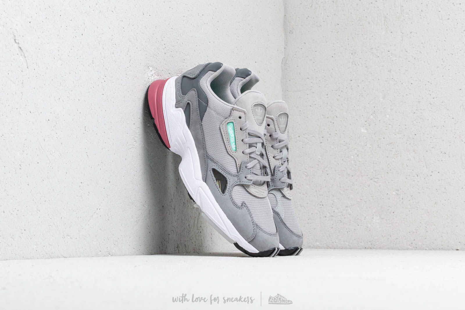 Lyst - adidas Originals Adidas Falcon W Grey Two  Grey Two  Trace ... 7b7a03d53