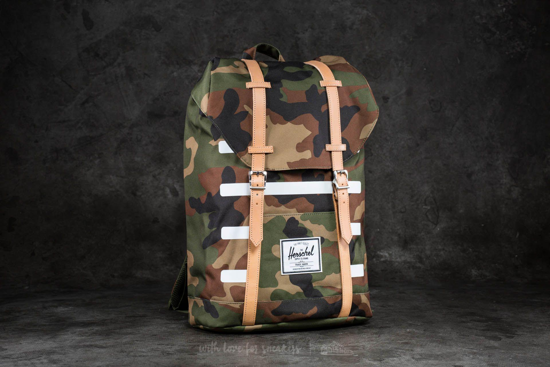 18cbb26061 Lyst - Herschel Supply Co. Retreat Backpack Woodland Camo Stripe for Men