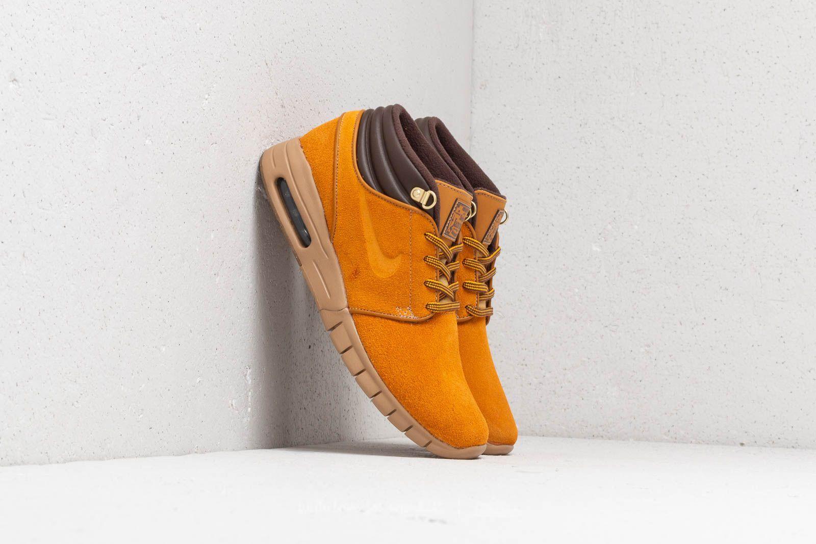 361cf42e91 Nike Sb Stefan Janoski Max Mid Premium Skate Shoe in Brown for Men ...