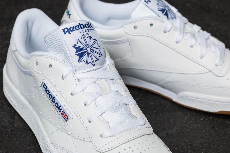 0d7813ca0a7 Lyst - Reebok Reebok Club C 85 White  Royal  Gum for Men