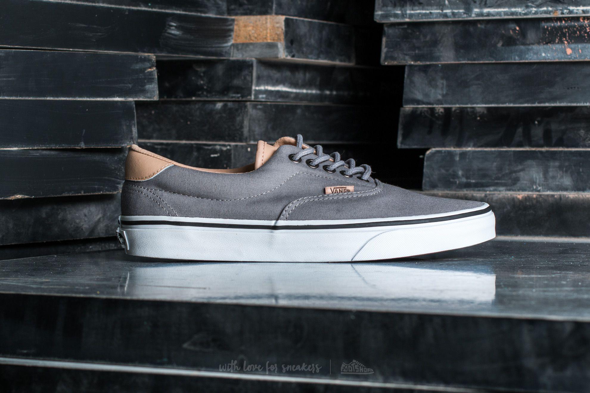 Lyst - Vans Era 59 (veggie Tan) Frost Grey  True White in Gray for Men 83f16099ab
