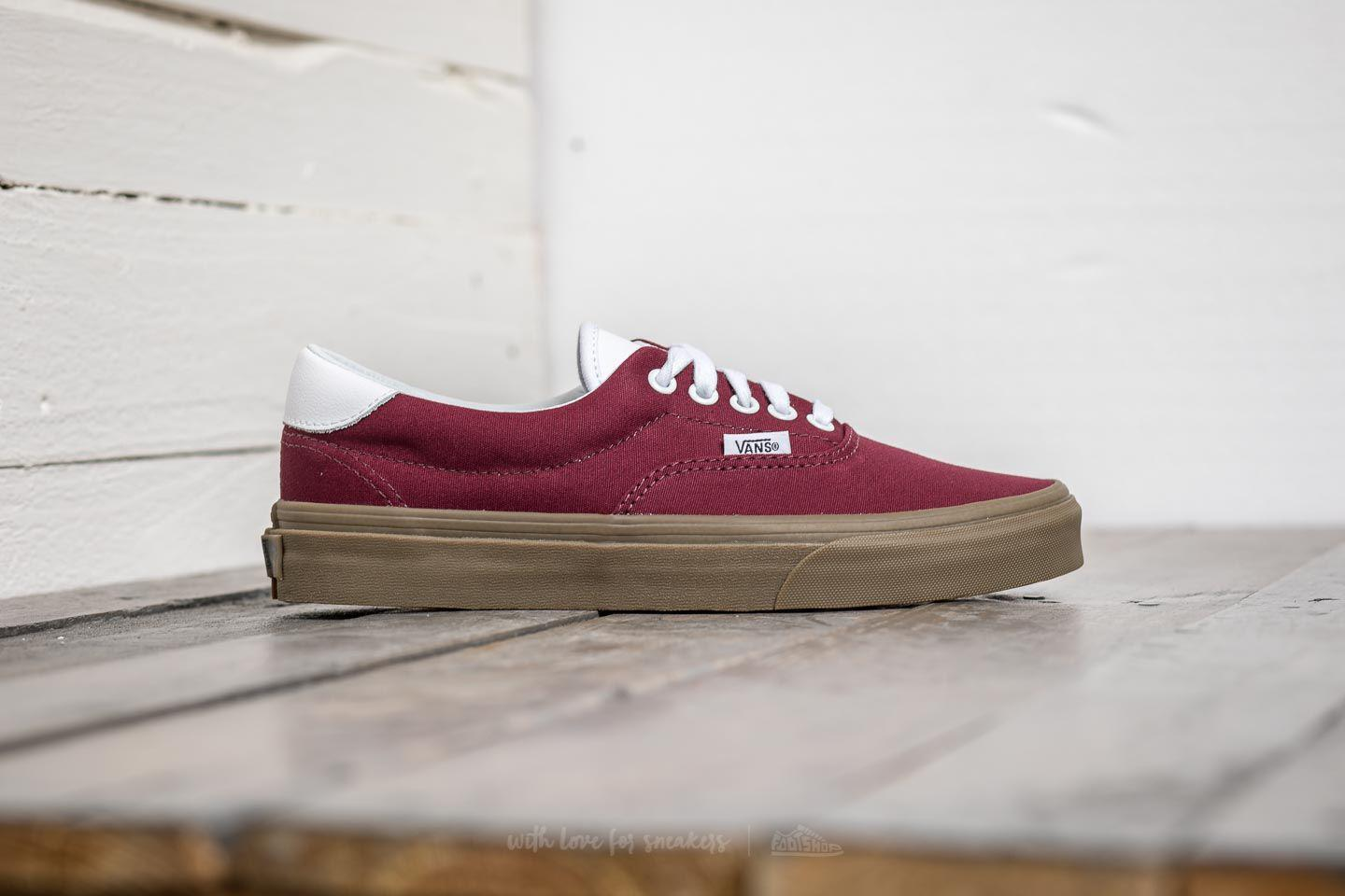 898ff527c6 Lyst - Vans Era 59 (bleacher) Port Royale  Gum for Men