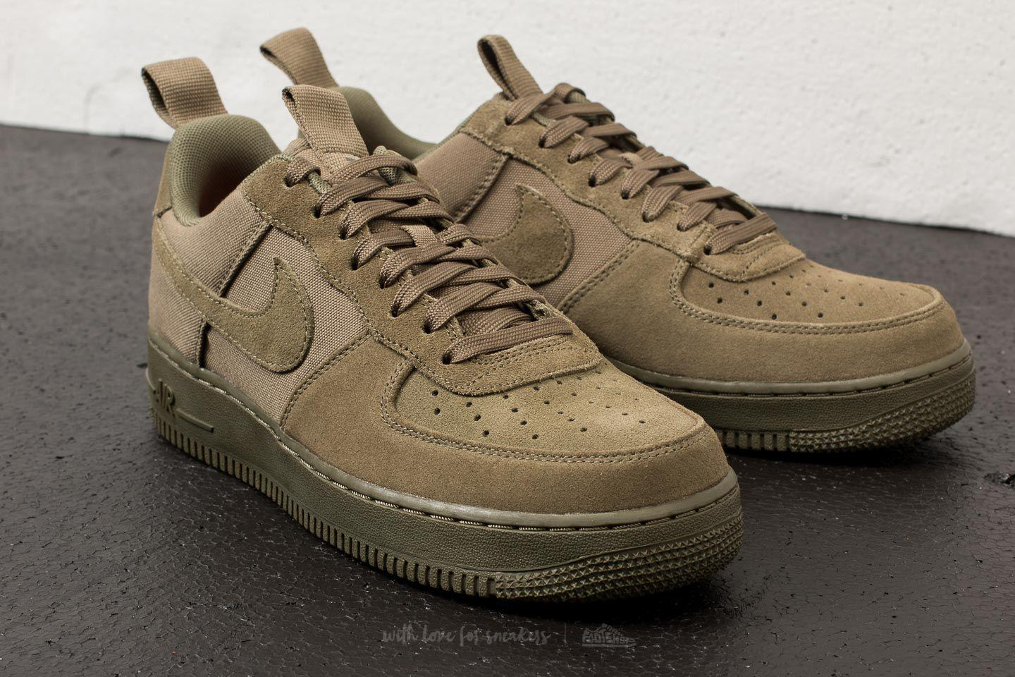 Lyst Nike Air Force 1 07 Canvas Medium Olive   Olive Medium Olive in   2fb60a