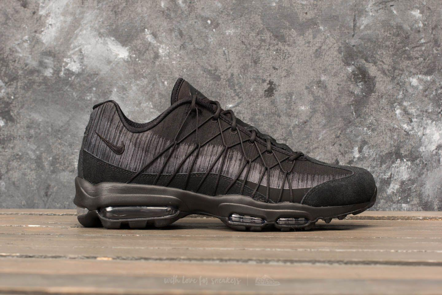 Noir Air Ultra in Lyst Nike Anthracite Grey cool Jacquard 95 Max Wfnn4FUq