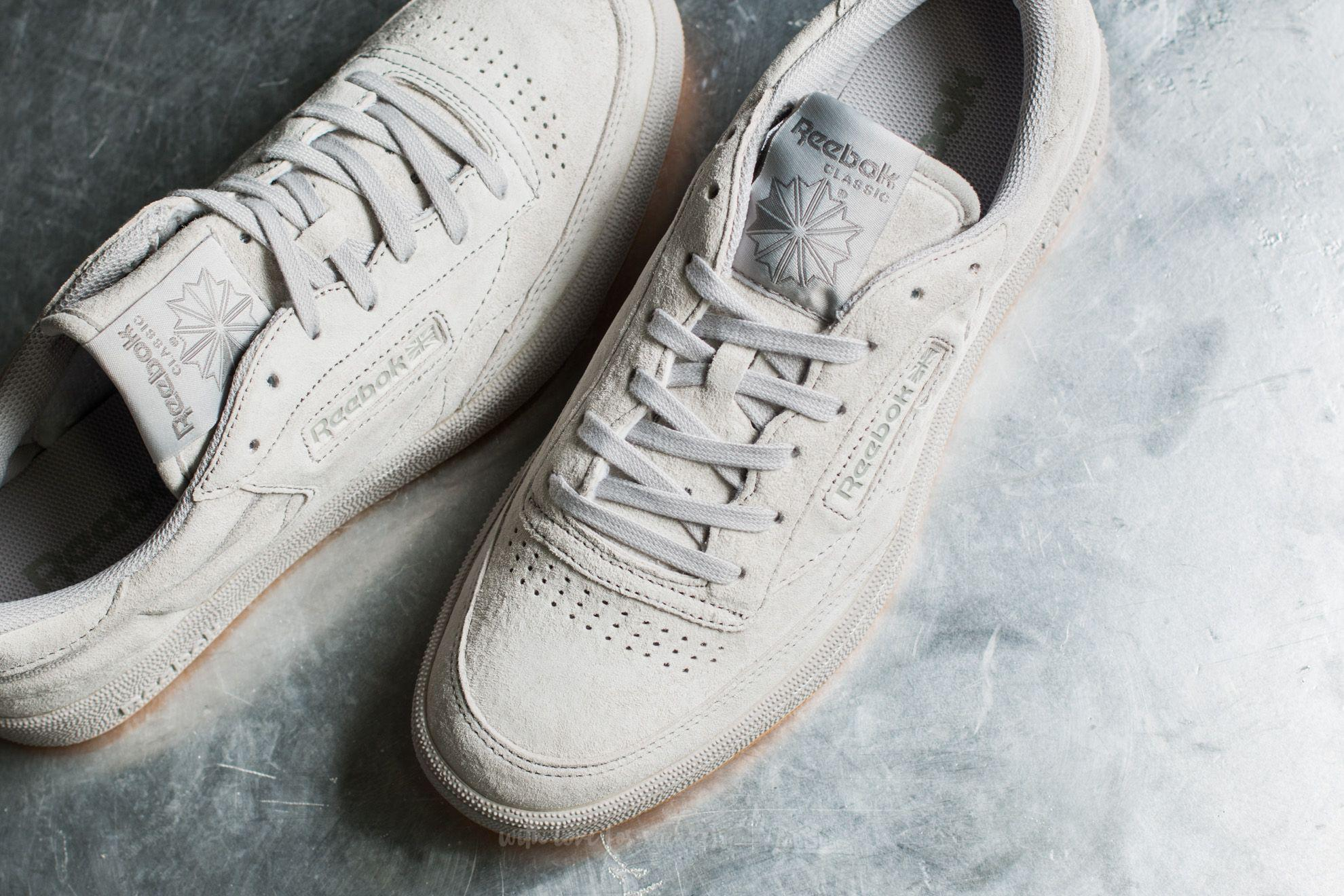 Lyst - Reebok Club C 85 Tg Steel  Carbon-gum in Gray for Men 6f78628d6