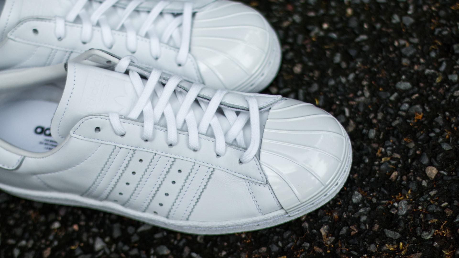 906c6484f2 Lyst - adidas Originals Adidas Superstar 80s Metal Toe W Ftw White ...