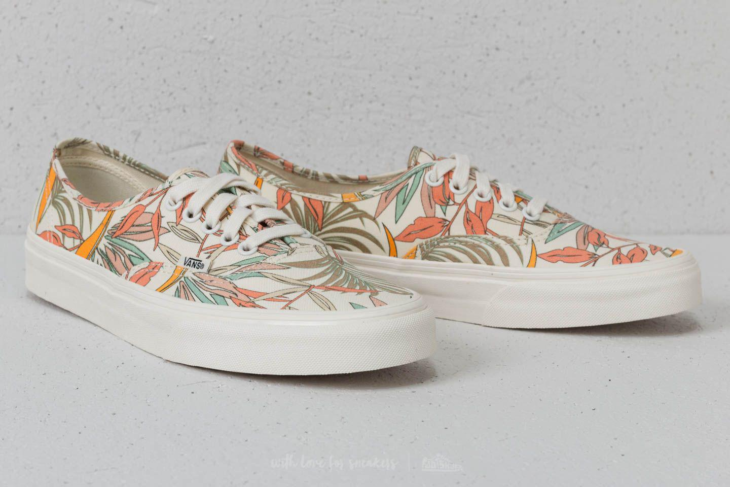 04011834e5 Lyst - Vans Authentic (california Floral) Marshmallow