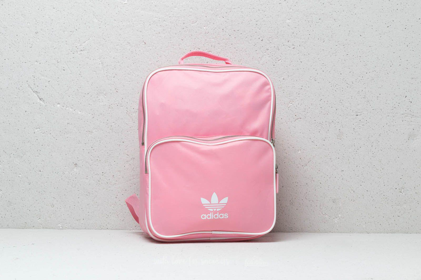 78a634a2027f Adidas originals womens adidas classic adicolor medium backpack light pink  jpg 1600x1067 Light pink back pack