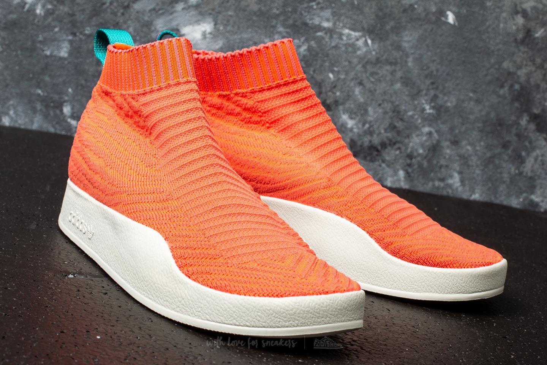 check out 1cdbb 6538c Lyst - adidas Originals Adidas Adilette Primeknit Sock Summe