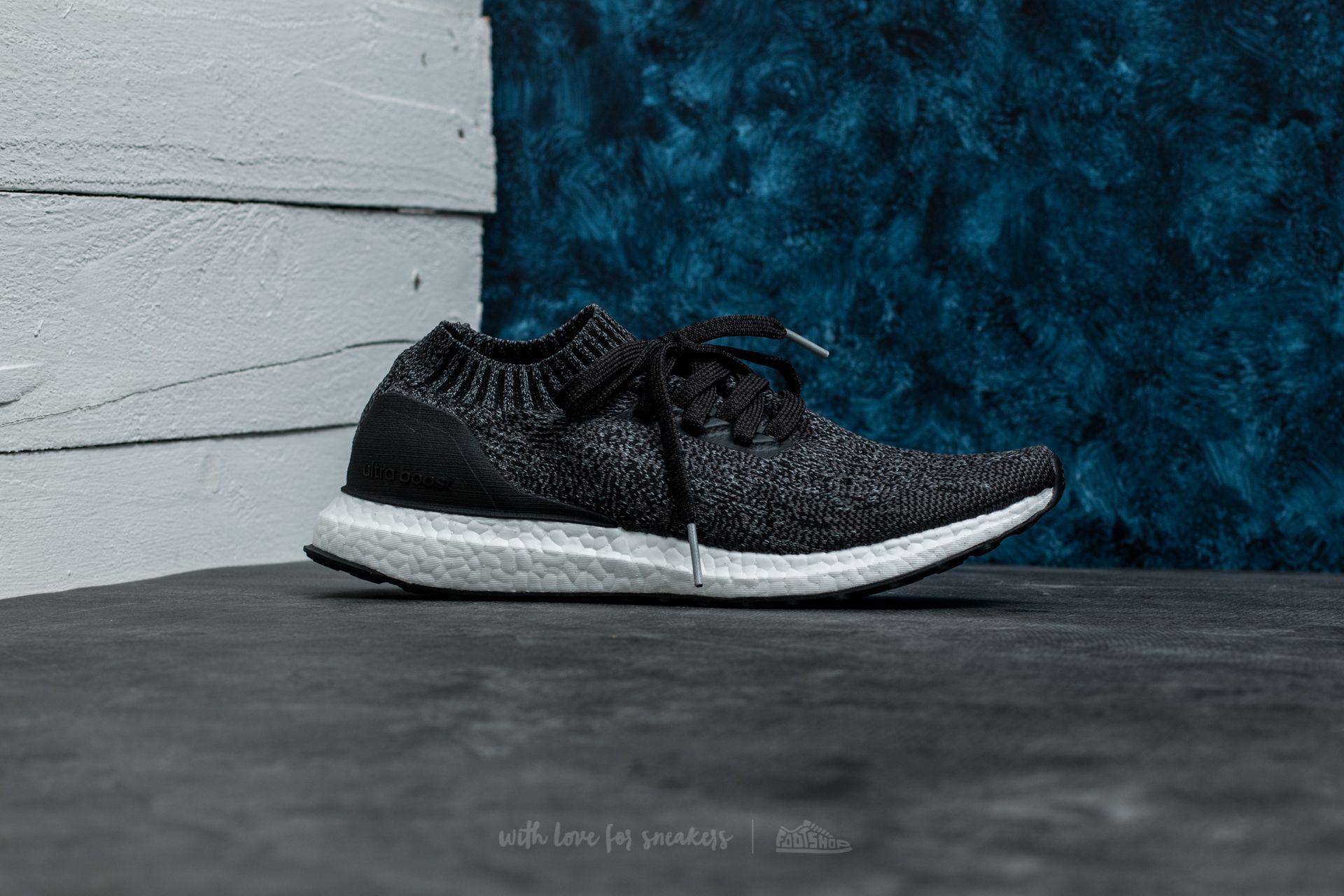 quality design a56c6 1edaa Lyst - Footshop Adidas Ultraboost Uncaged Core Black  Dgh Solid Grey ...