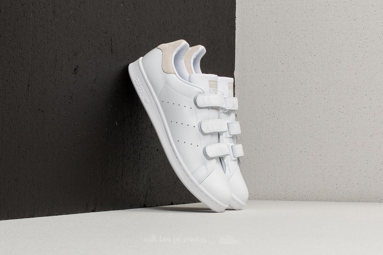 Lyst - adidas Originals Adidas Stan Smith Cf Ftw White  Ftw White ... 2d0792b17