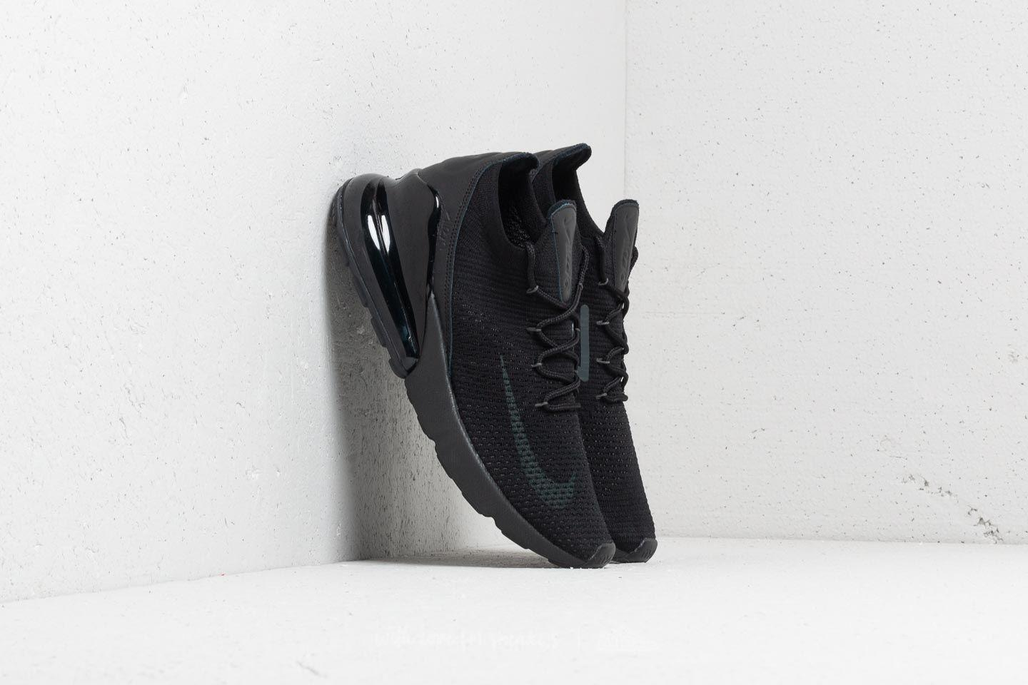 ... czech lyst nike air max 270 flyknit black anthracite black in black for  men e7d60 75c18 589f99bdf