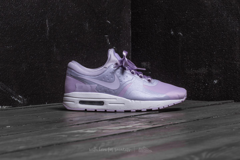 lyst nike air max zero se (gs), violet nebbia / violet nebbia bianco