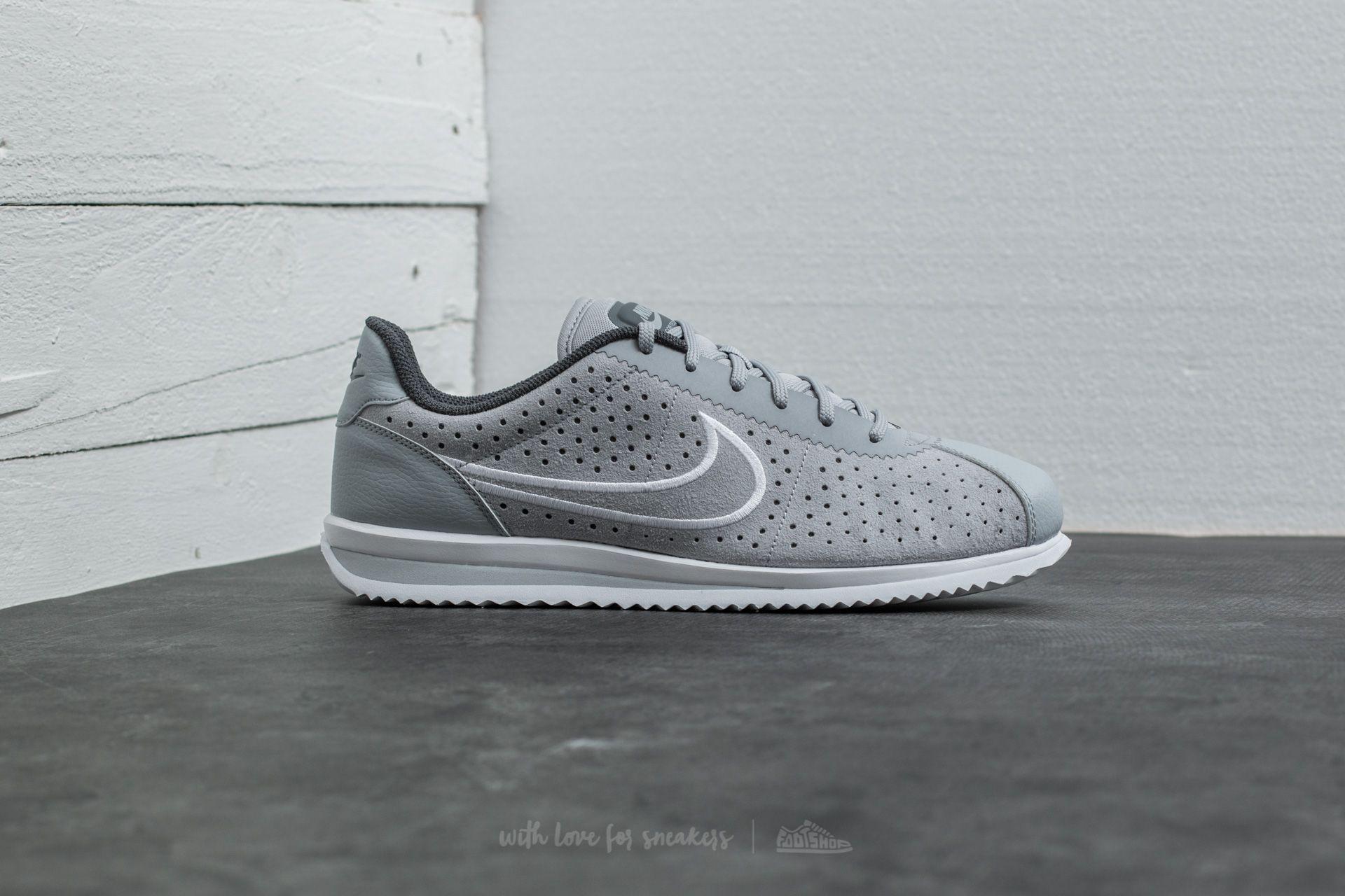 Lyst - Nike Cortez Ultra Moire 2 Wolf Grey  White-dark Grey in Gray ... 5c55e1df5