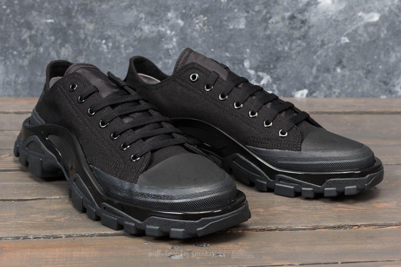 the best attitude 71bf6 bf497 Lyst - Footshop Adidas X Raf Simons Detroit Runner Core Black  Core ...