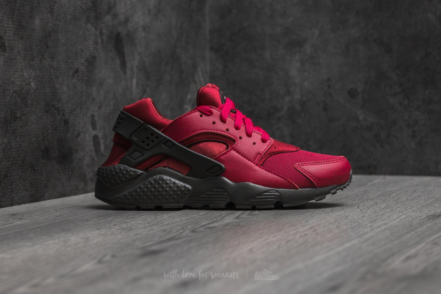 ed49fc045426 Lyst - Nike Huarache Run (gs) Noble Red  Anthracite