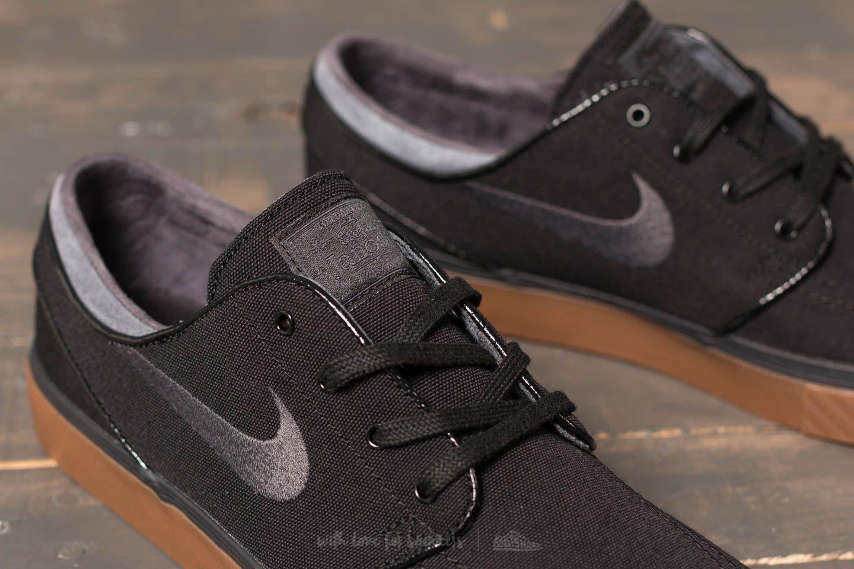 d0b4ae583d12 Gallery · Nike SB Zoom Stefan Janoski Canvas Black Anthracite Gum Medium  Brown Men Shoes Sneakers