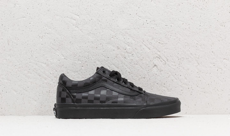 6c96d441da67a3 Lyst - Vans Old Skool (high Density) Black  Checkerboard in Black
