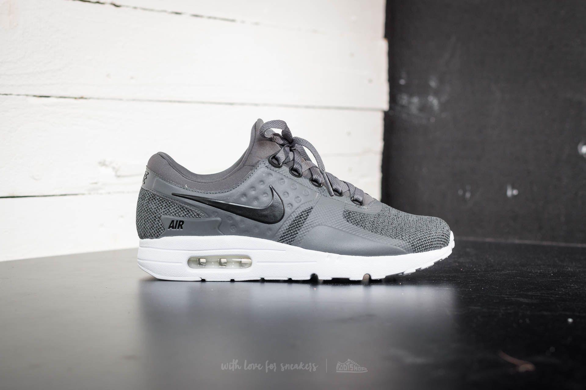 premium selection b6368 9c45d Nike Air Max Zero Se Black  Dark Grey-white in Gray for Men - Lyst
