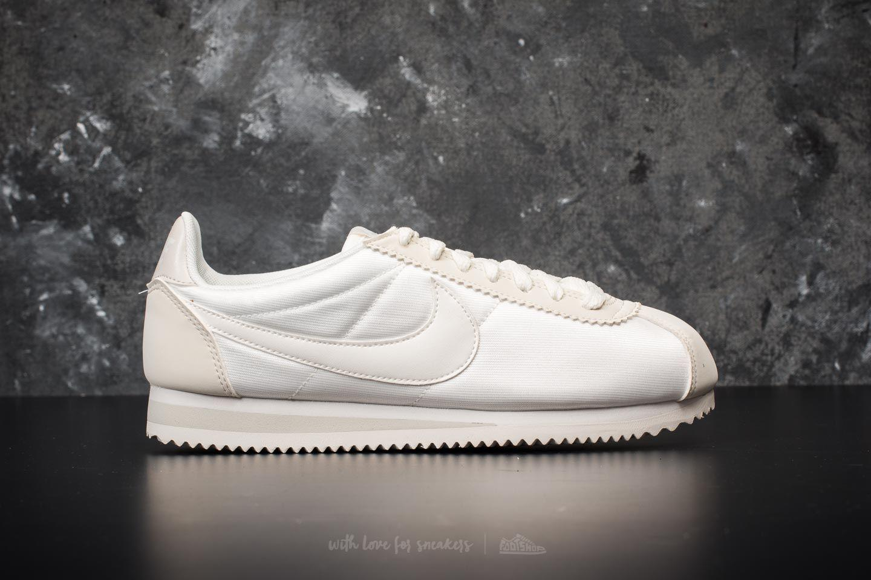 63ca2f4606cc Lyst - Nike Wmns Classic Cortez Nylon Ivory  Ivory-light Bone in White
