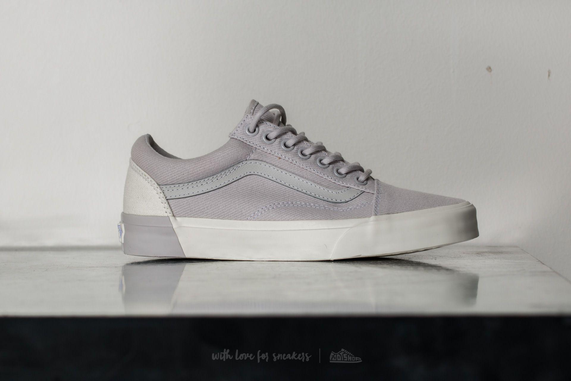 Lyst - Vans Old Skool Dx (blocked) Classic White  Grey in Gray for Men 6f63f9d722b