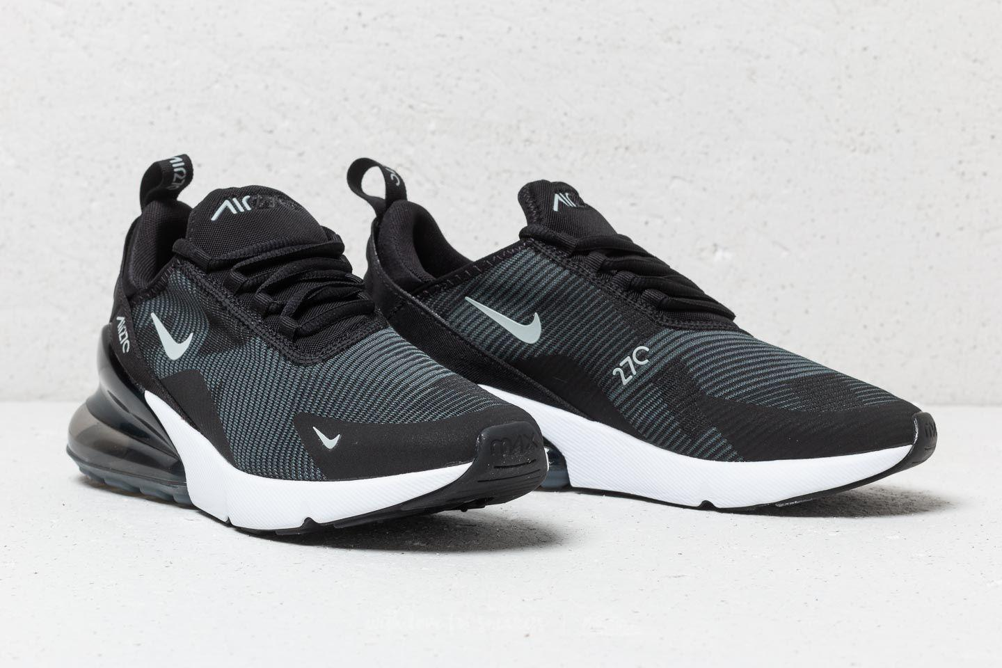 cheap for discount 7fa30 13d14 Nike Air Max 270 Jacquard (gs) Black  Wolf Grey-dark Grey in Gray - Lyst