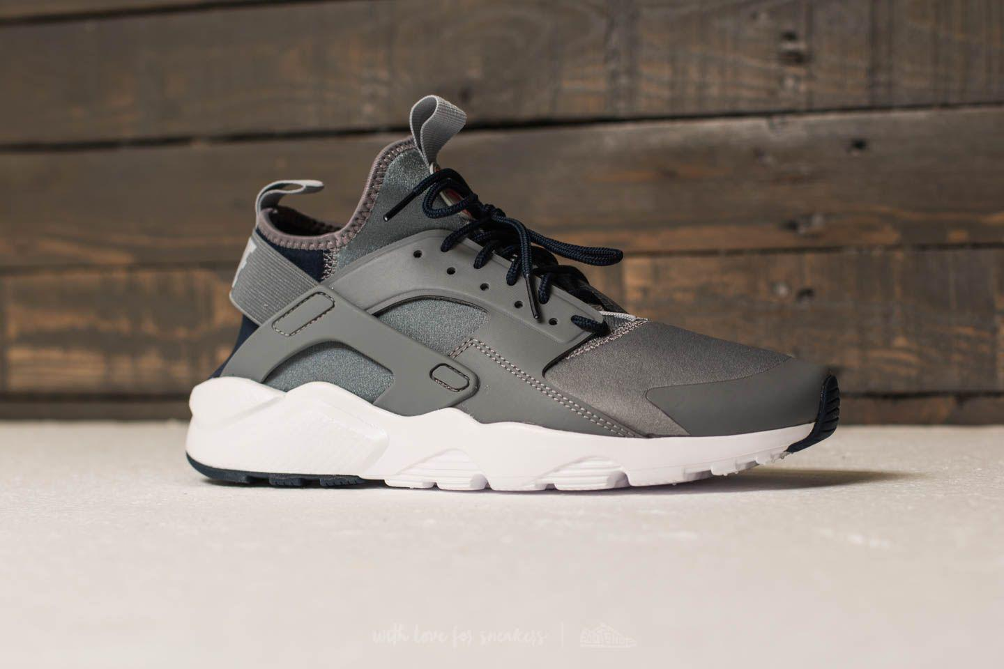 hot sale online d9fcb 088a6 Lyst - Nike Air Huarache Run Ultra Cool Grey  Wolf Grey-obsidian in ...